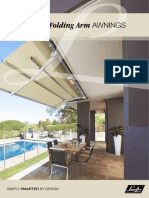 Luxaflex - Products - External Collection - Folding Arm Awnings - Brochure