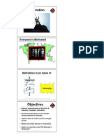 Motivation Elements of Organisational Behaviour Lecture Slides