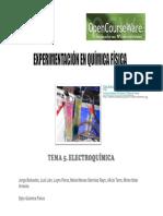 Tema 5 Electroquimica