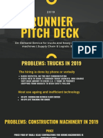 Runnier Pitch Deck