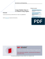 Chracterization and Storage Stability Study of Bixin Extracted From Bixa Orellana