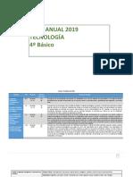 Planificación Anual Tecnología 4° Básico 2019.pdf