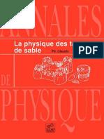 Claudin Ph. - La physique des tas de sable-Routledge (1999).pdf
