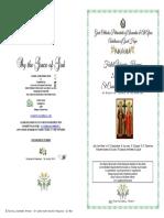 2019- 21 May - Vespers - St Constantine & St Elena