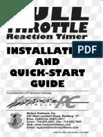 Full Throttle Reaction Timer