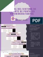 Manual Del Sistema de Reporte de Puntajes Preuniversitarios