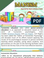 HUMANINSM-Philosophy of education