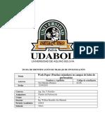 Work Paper 1fluidos de Perforacion