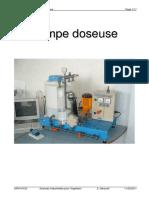 Dossier Technique Pompe Doseuse