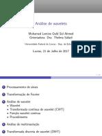 Análise de Wavelet_Seminario