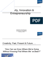 Creativity Innovation and Entrepreneurship