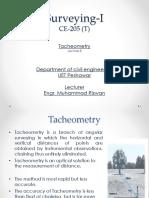 8 Tacheometry