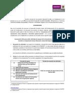 Convocatoria Del Programa de Fomento a La Organización Social Planeación y Desarrollo Regional Forestal