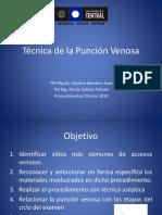 1a.técnica de La Punción Venosa 2019