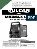 63616 MIGMax 140 Welder