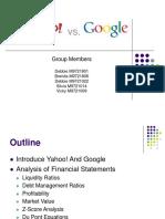 1 Google vs Yahoo Ppt