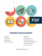 Corporate Finance Assignment