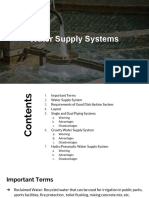 Water Supply Systems