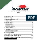 ATS Toyama Manual de instalação