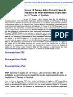 Domina El Ingles en 12 Temas Libro Tercero Mas de 180 Palabras y Expresiones de Nivel Intermedio Exp B00MYGGT3A