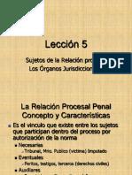 1Lección 5 sujetos relacion procesal dpp.pdf