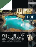 WhisperFloXF High Performance Pump English