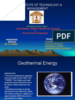Geothermal Energy Classroom Presentation