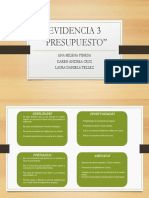 EVIDENCIA 3 MATRIZ DOFA PRESUPUESTO.pptx