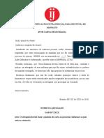 NOTIFICAÇÃO EXTRAJUDICIAL PARA RENÚNCIA DE MANDATO.doc