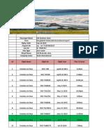 Emirates Airlince Ltd. Employe Visa Flight Boking Date ..xlsx