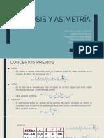 Curtosis y Asimetria