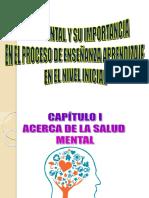 Diapositivas - Salud Mental y El Aprendizaje