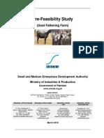 Goat Fattening Farm 450 Animals Rs. 7.35 Million Mar-2018