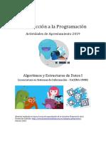 AED1-Introd a La Programacion 2019 (Aprestamiento)