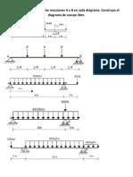 Encuentre el valor de las reacciones A y B en cada diagrama.docx