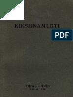Krishnamurti Jiddu - Camps d'ommen 1937 et 1938.pdf