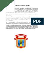 Reseña Histórica de Chiclayo