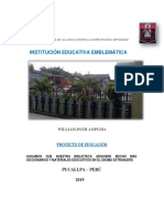 proyecto educativo institucional william dyer