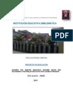 proyecto educativo institucional william dyer