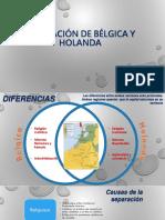 Separación de Bélgica y Holanda