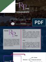 Presentacion de Presupuesto Rp Group