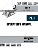 TM-048 90kW Generator, Northern Lights Model OM2-4, Operator