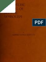 Bartlett H T - An Esoteric Reading of Biblical Symbolism - 1916.pdf