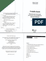 Tardif, Maurice; Lessard, Claude - O trabalho docente.pdf
