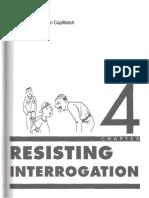 resisting interrogation
