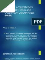 NABL Accreditation