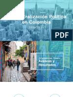 Descentralización Política en Colombia