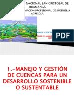 Clase v-manejo Integrado de Cuencas Hidrograficas (1)