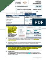 Fta-2018-2-m1 - Derecho Constitucional y Administrativo - 3502