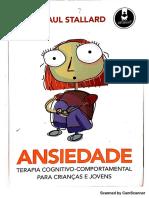 Ansiedade - Paul Stallard